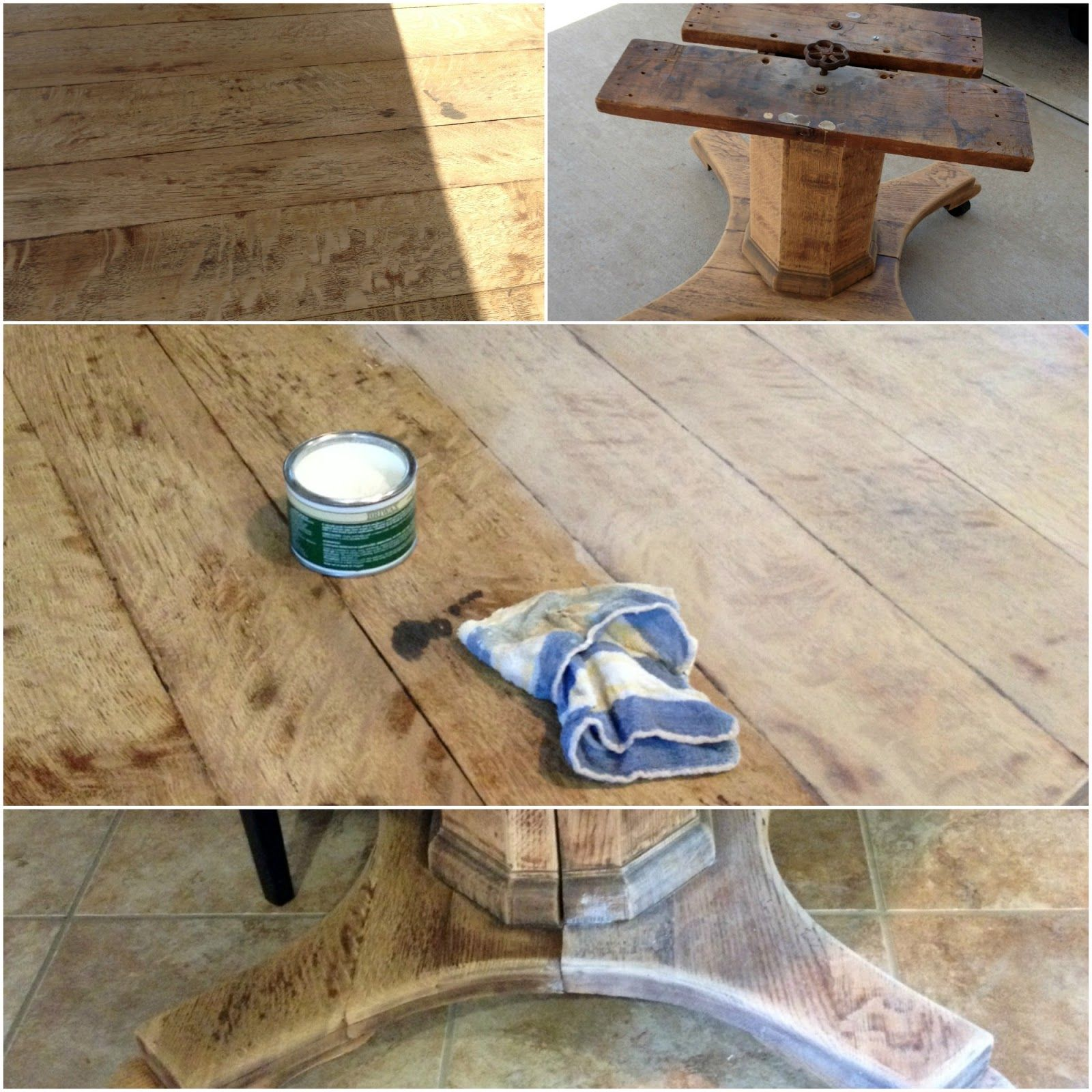Delicieux Crazy Wonderful: Bleached Wood Look With Liming Wax
