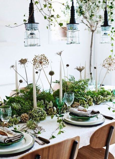 LEI LIVING tabletop Pinterest Dekoration, Christmas decor and