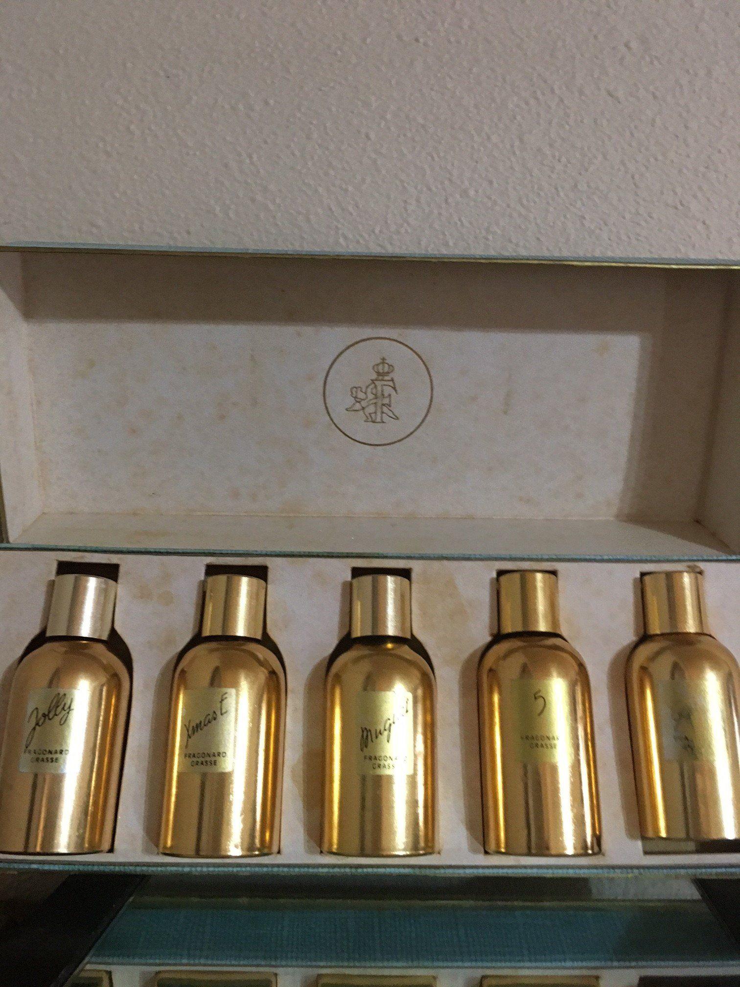 Vintage Fragonard Perfume Set By Gingersscents On Etsy