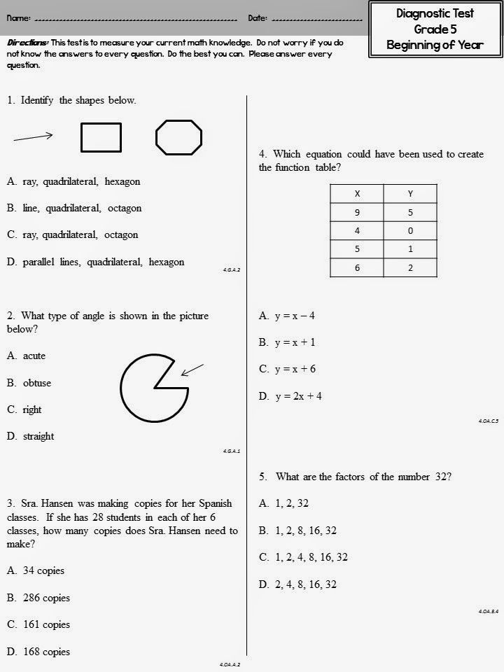 Worksheets Math Tests For Grade 2 17 best images about math assessments on pinterest assessment and student