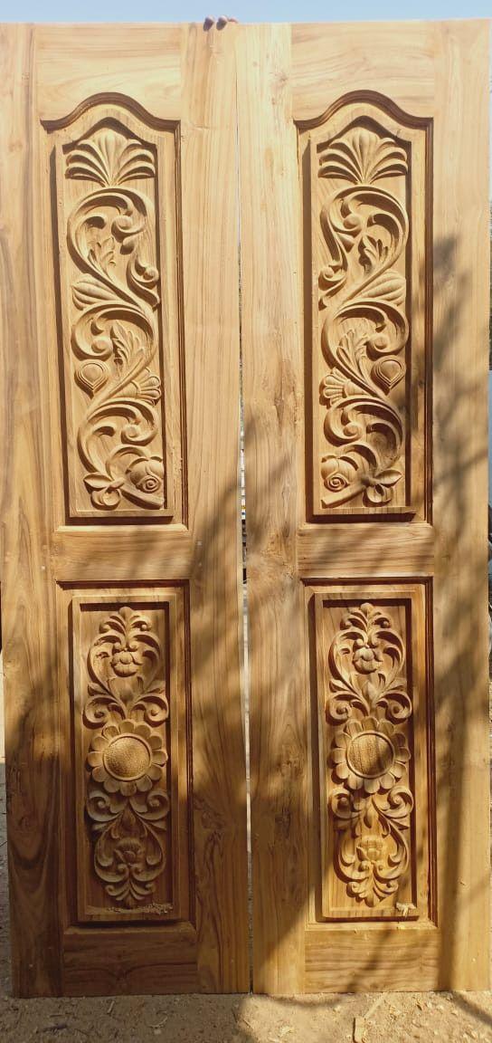 Bavas Wood Works Pooja Room Door Frame And Door Designs: Pin By Md.Shakil On Door Design