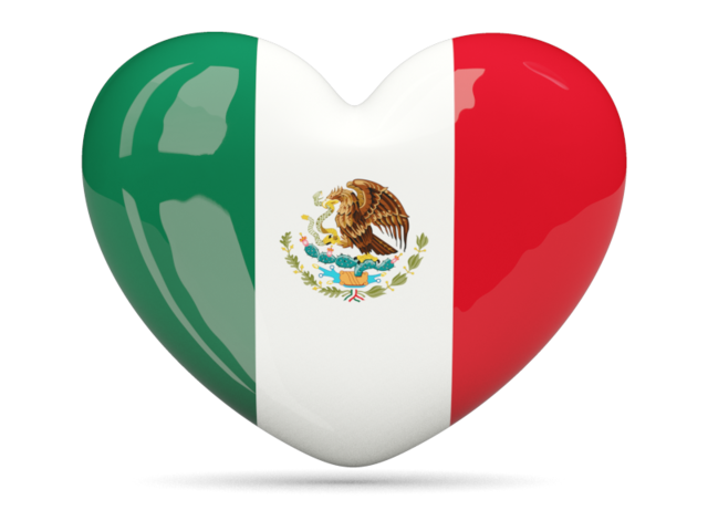 Heart icon. Download flag icon of Mexico at PNG format