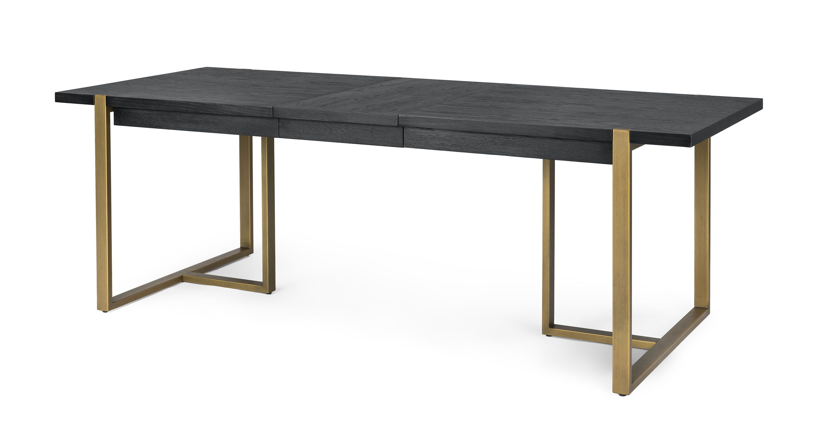 Extendable Dining Table Brass Legs Seats 8 10 Article Oscuro