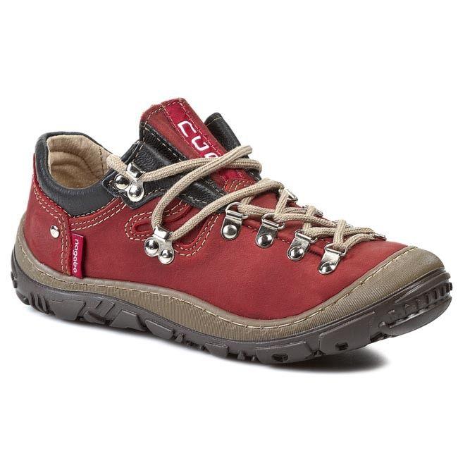 Trekkingi Nagaba 054 Czerwony Hiking Boots Boots Light Boots