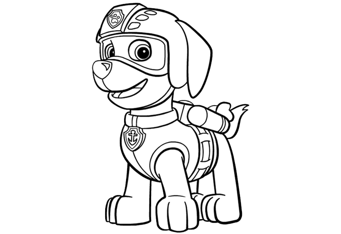PAW Patrol Coloring Pages Printable | Kids\' stuff and ideas ...