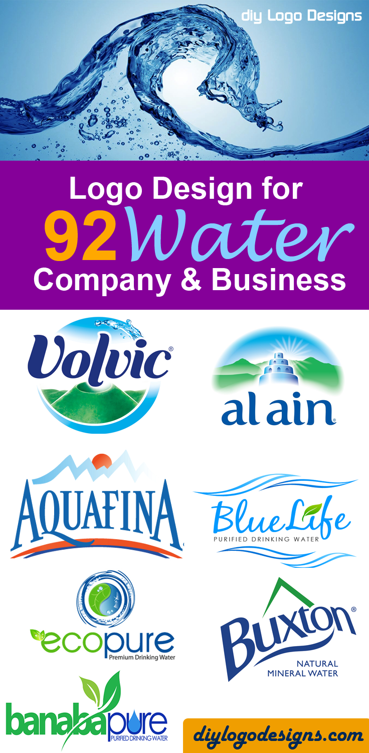 92 Logo Design For Water Company And Business See Full Collection