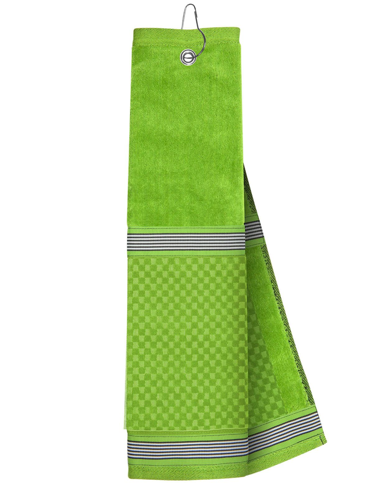 Our Favorite Lime Towel Features Snazzy Stripes To Make Your Bag A Hole In One Hole In One Knit Fashion Luck Of The Irish