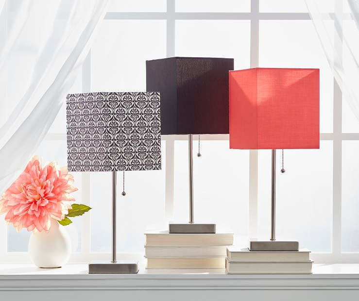 Stick Lamp With Drum Shade Collection At Big Lots 15 And Up