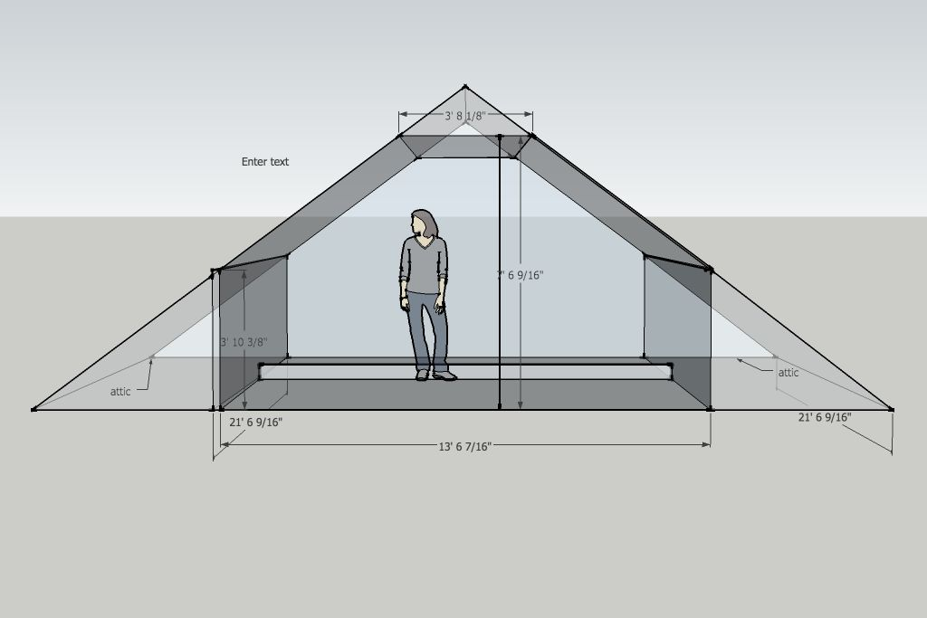 Finished Attic Plans Please Help With Small Studio