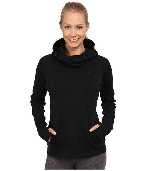nike svart hoodie
