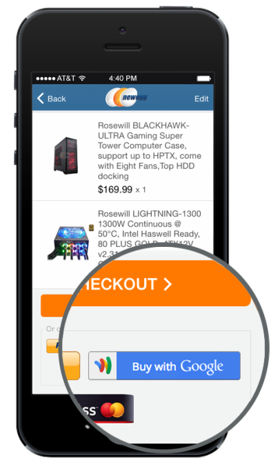 Google Wallet's 2Click Instant Buy Checkout Comes To iOS