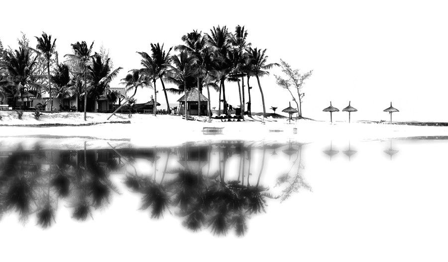 Beach reflect by THOMAS Patrice on 500px
