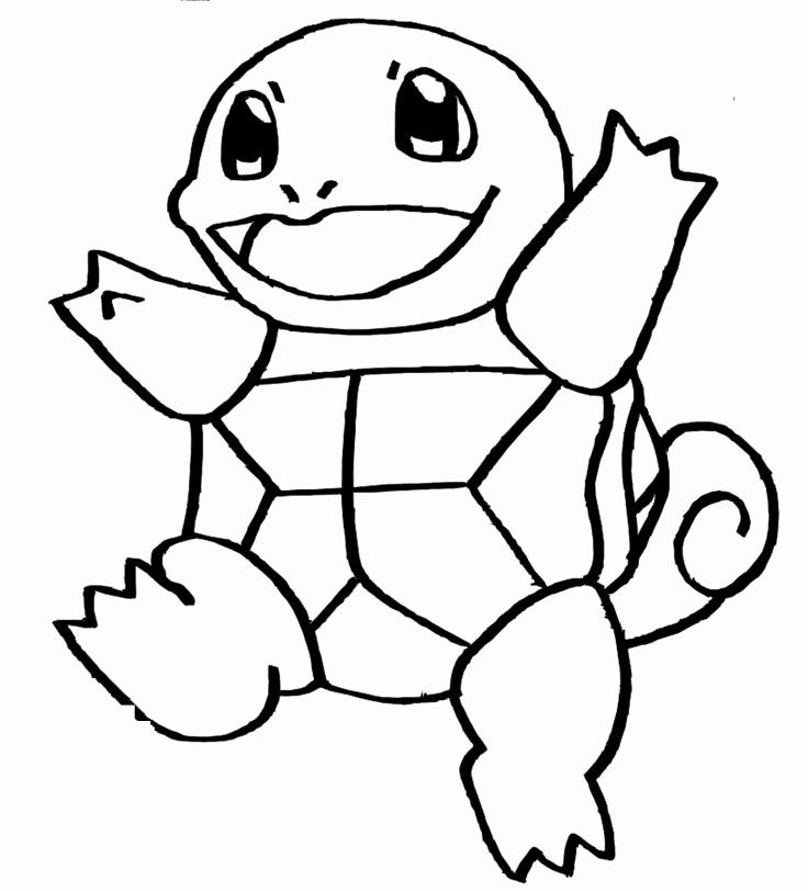 32 Squirtle Pokemon Coloring Page in 2020 | Pokemon ...