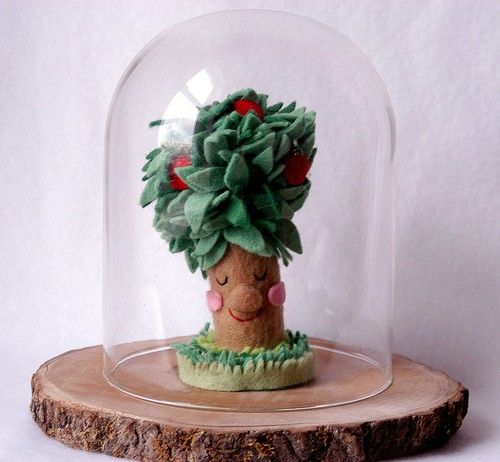 Made Of Felt. I Love EVERYTHING In This Etsy Shop