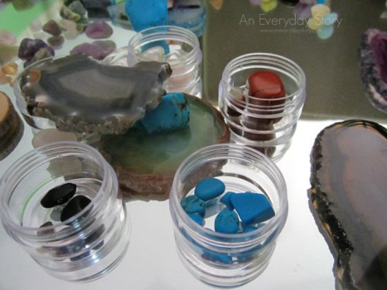 Reggio activities rocks and minerals An Everyday Story Exploring Rocks and Minerals