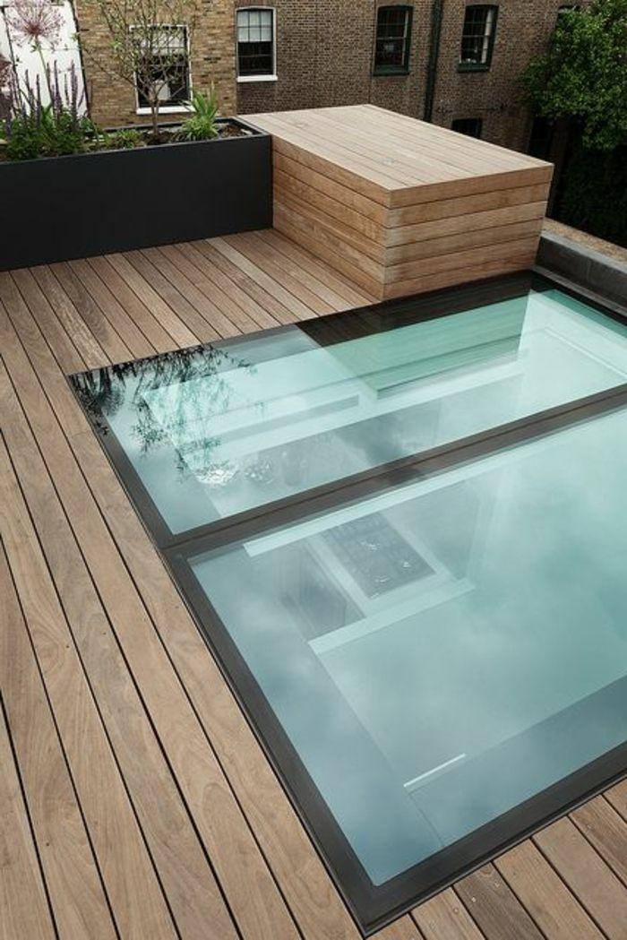 la fen tre de toit en 65 jolies images extensions glass. Black Bedroom Furniture Sets. Home Design Ideas