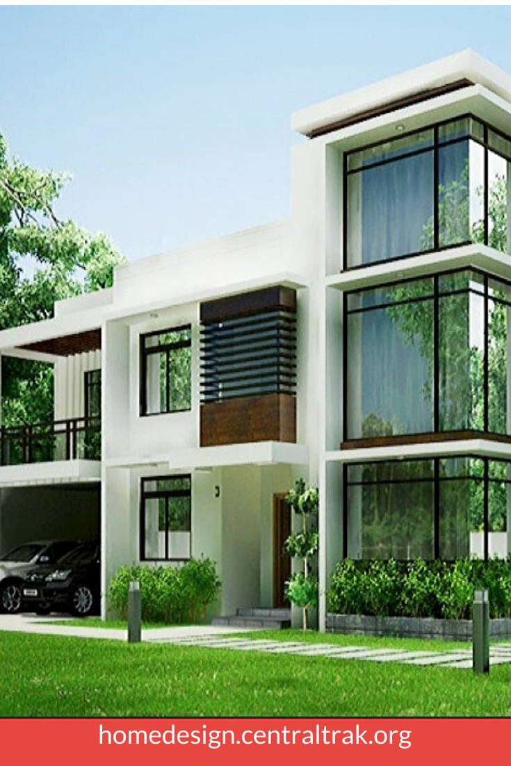 25 Awesome Small Contemporary House Designs Ideas To Try Dekorasi Rumah Rumah Dekorasi