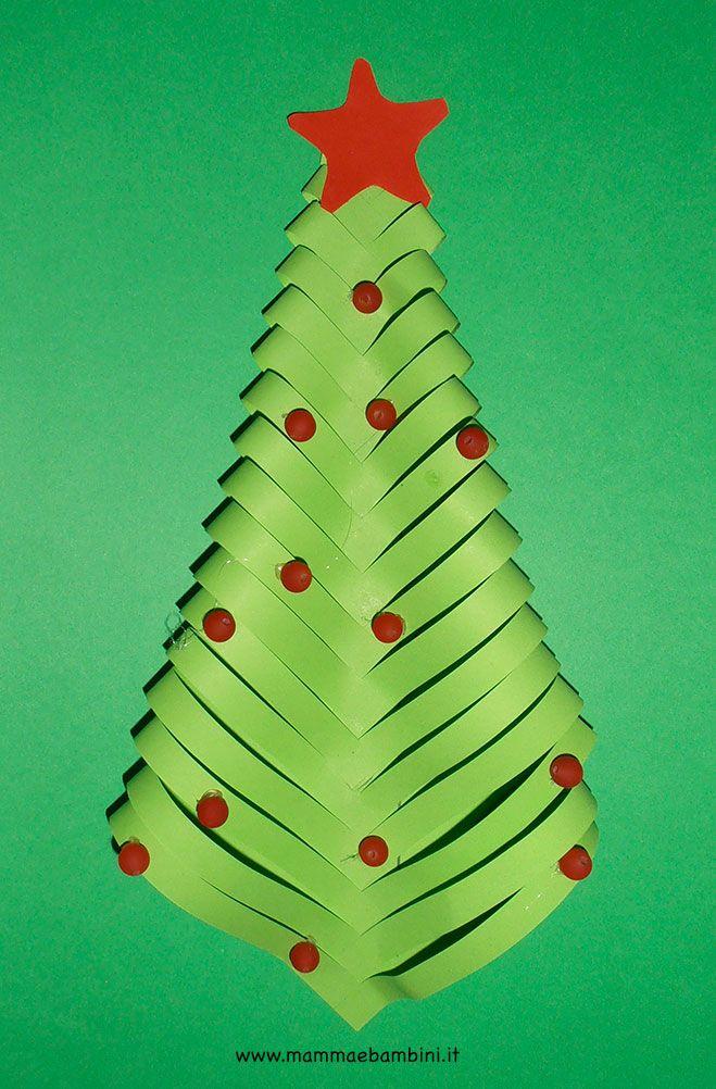 Alberi Di Natale Di Carta.Addobbi Per Natale Con Albero Di Carta Alberi Di Carta