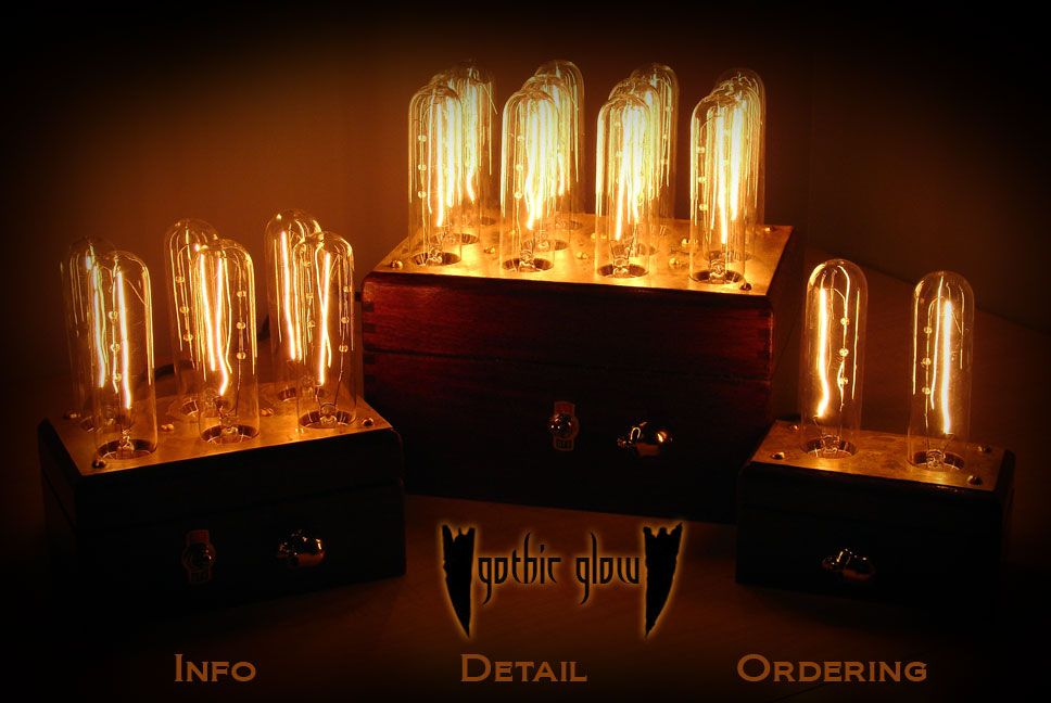 Gothic Glow ambiance lighting I need to remember my steampunk leanings more often!  Home