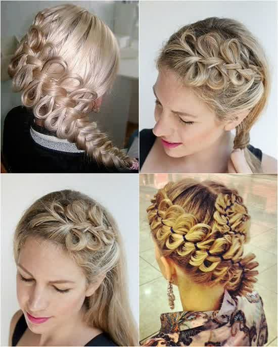 Step By Simple Hairstyles For Girls With Braided Look
