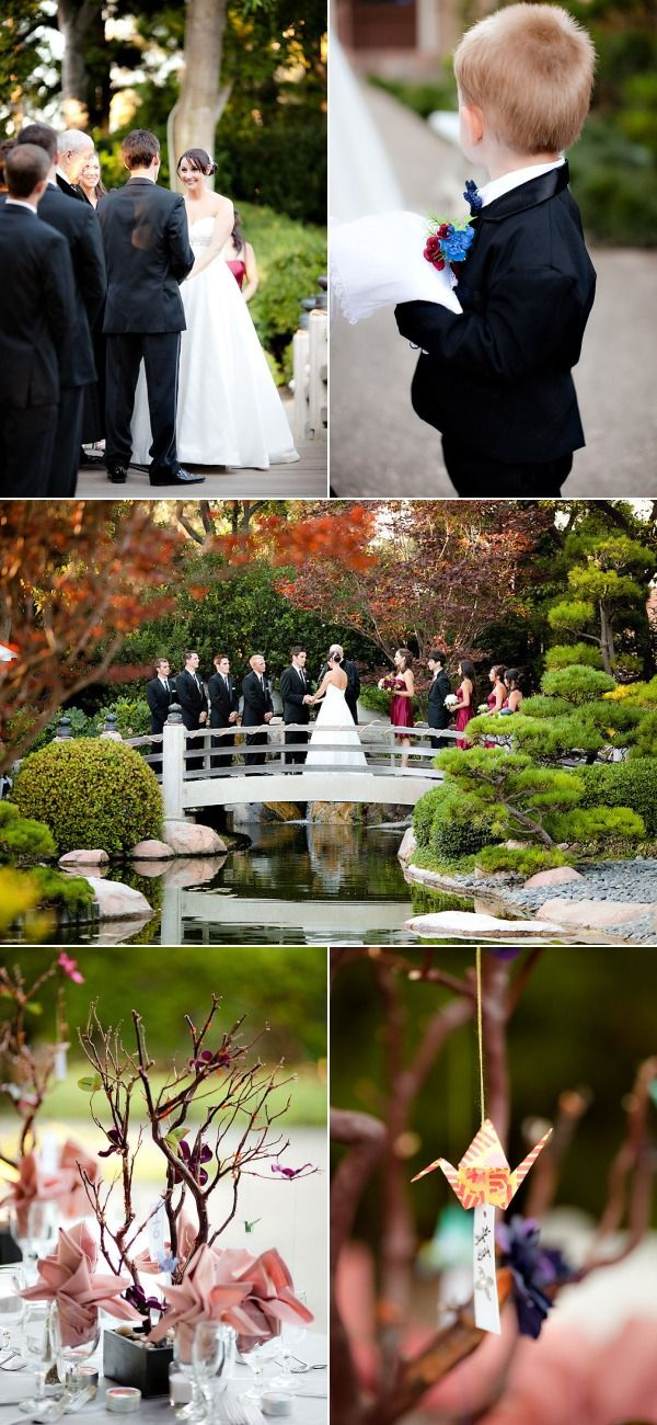 California Wedding In A Japanese Garden, Have You Thought About The  Botanical Gardens In Green