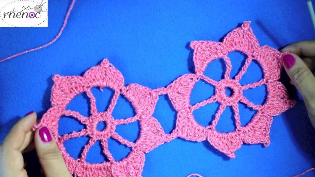 Como Unir Motivos Flores Ganchillo Crochet Flowers - Flores-ganchillo