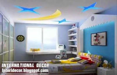 Best Creative Kids Room Ceilings Design Ideas Cool Ceiling Moon And Stars Style