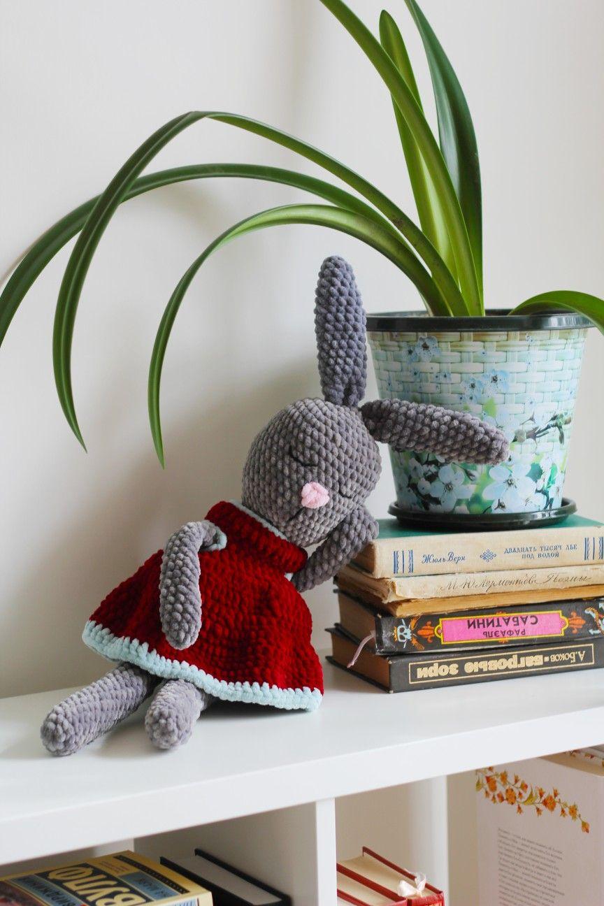 Handmade stuffed bunny Handmade stuffed animals