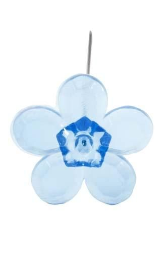 LOMEY™ Retro Flower Pin, Turquoise, 200/case