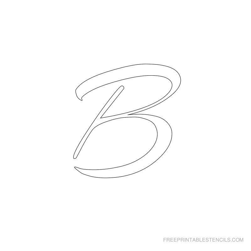 free printable alphabet stencils letter alphabet stencils to print free printable stencils com