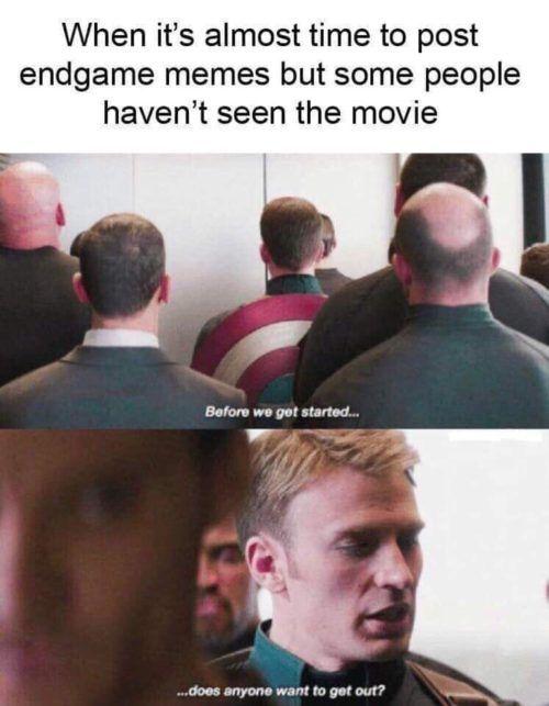 Best Avengers: Endgame Memes Spoilers | No-Guilt Fangirl
