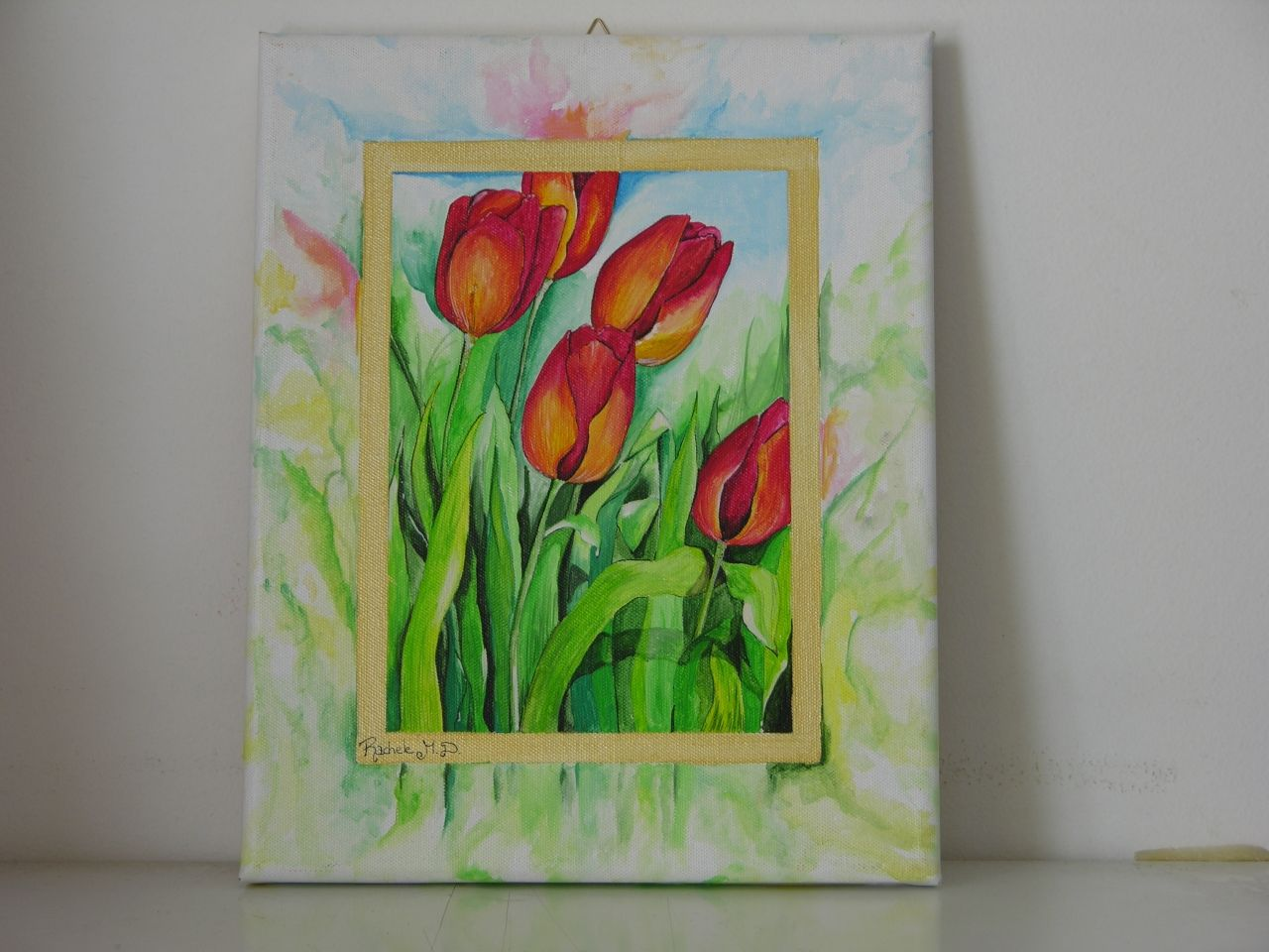 Tulipani Dipinti su tela, Dipinti e Tela