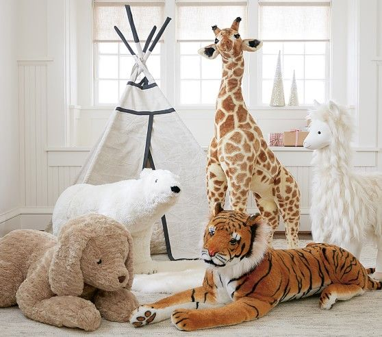 Llama Plush Collection Pottery Barn Kids Giraffe Llama
