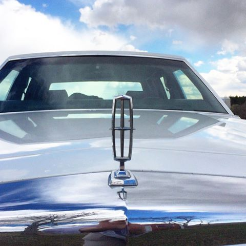 Lincoln Town Car Hood Ornament It Makes A Very Good Snow Gauge As