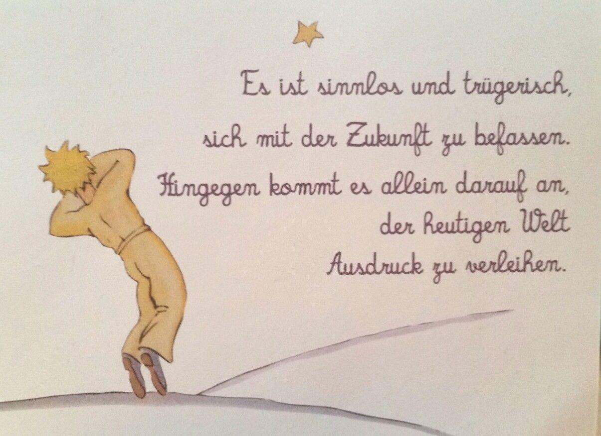 Pin Von Ivka Auf Moja Nástenka Der Kleine Prinz Zitate