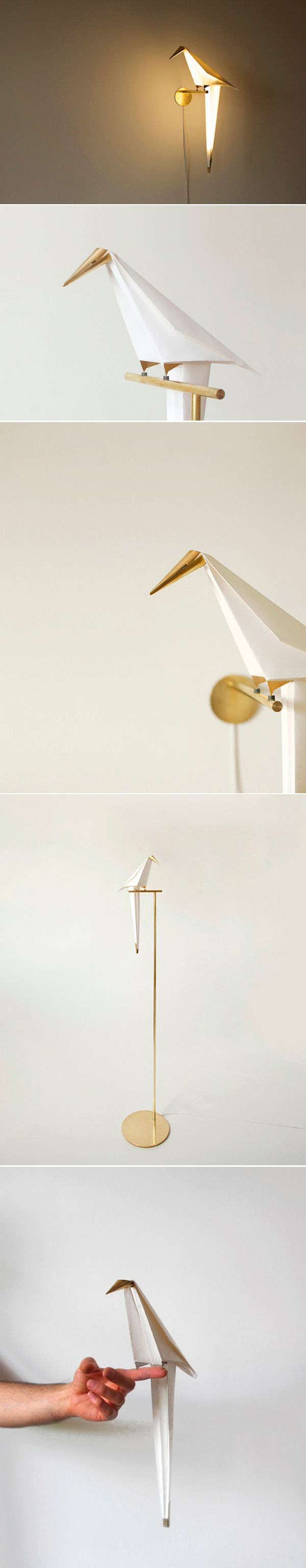 High Quality Interior Design | Decoration | Home Decor | Furniture | Perched Bird Lamp  By Umut Yamac Great Ideas