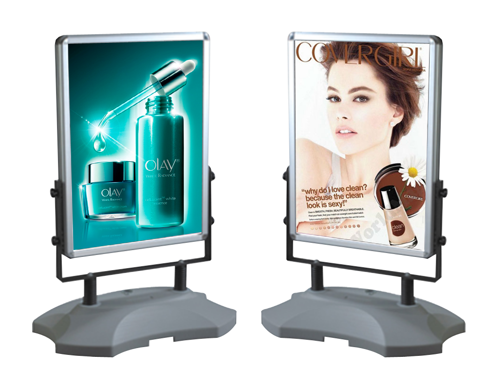 Outdoor Sign Holders-Display Solution | Poster display stand, Outdoor  signs, Poster display