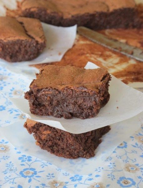 fondant chocolat - noisette (sans beurre, ni farine - no ...