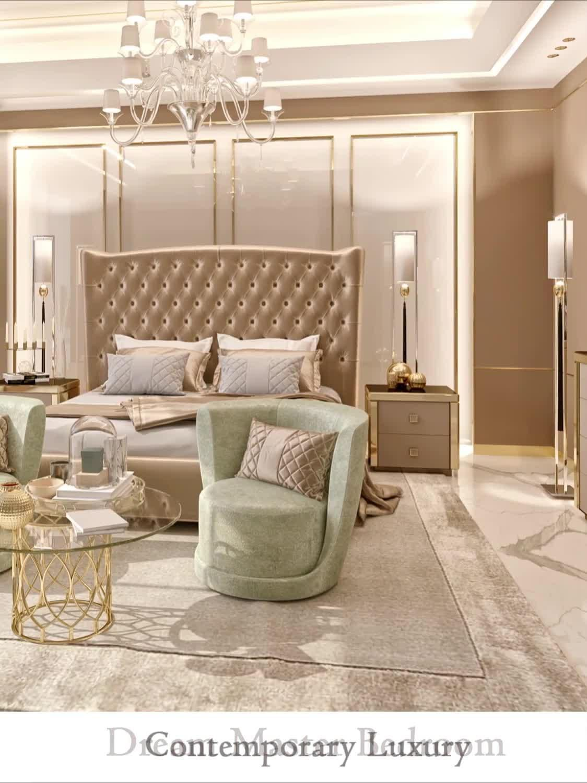 Beautiful dream bedroom interior design videos from designers of