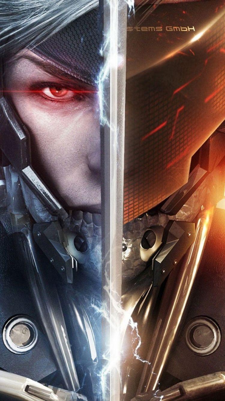 Iphone 5 Video Game Metal Gear Rising Revengeance Wallpaper Metal Gear Rising Metal Gear Metal Gear Series