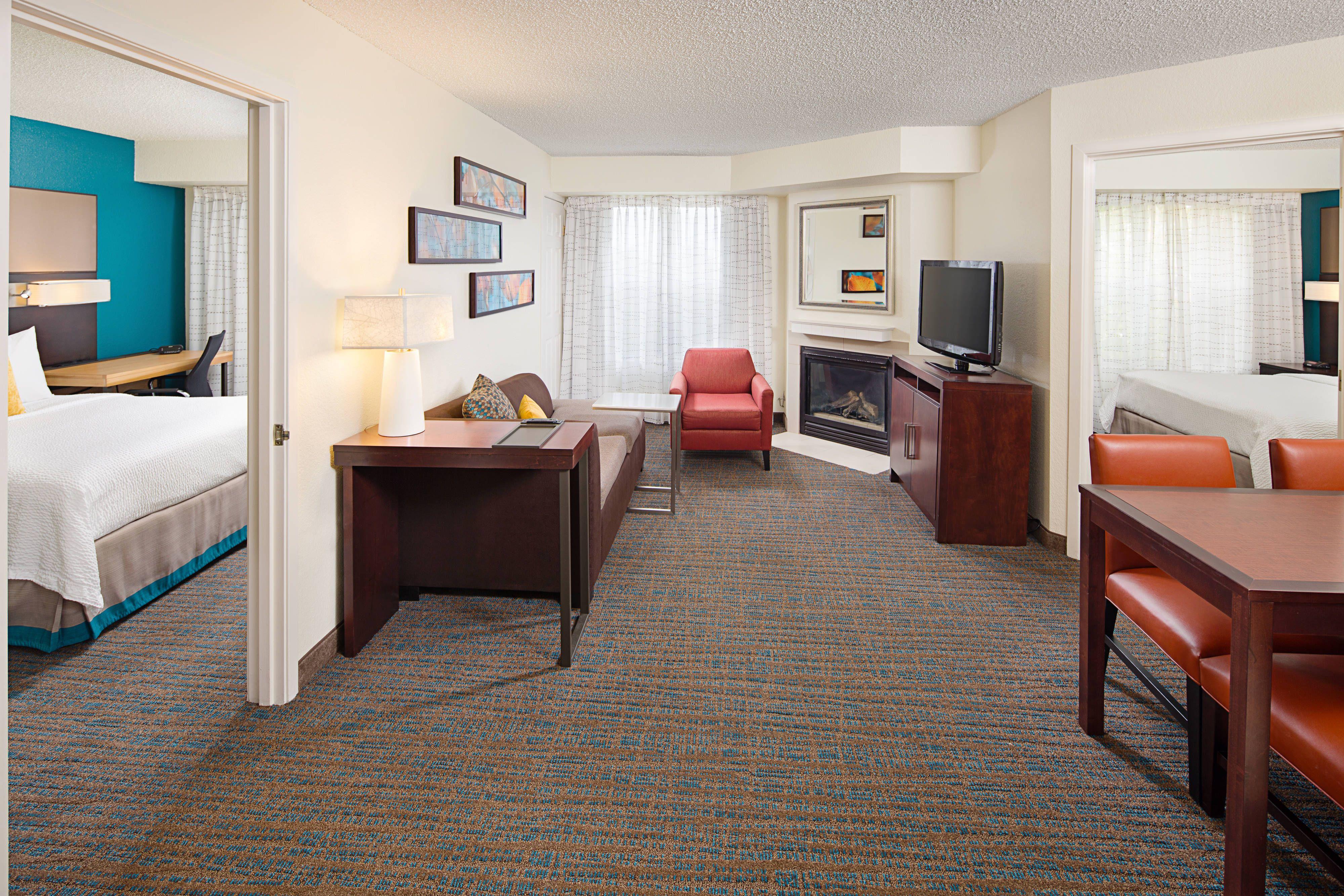 Residence Inn Detroit Livonia Two-Bedroom Suite # ...
