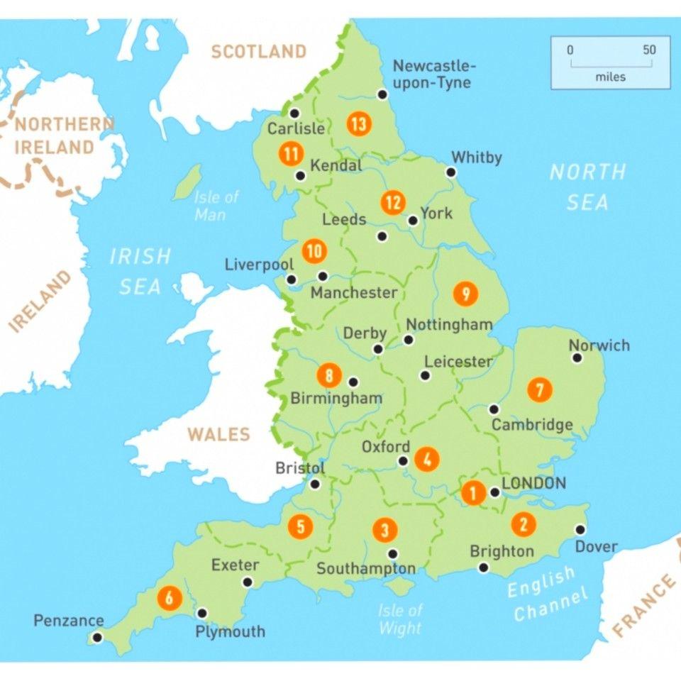 England Citie Map Region Bristol Accommodation Personal Statement