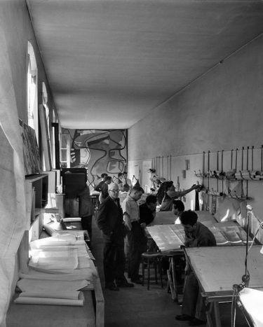 Le Corbusiers studio