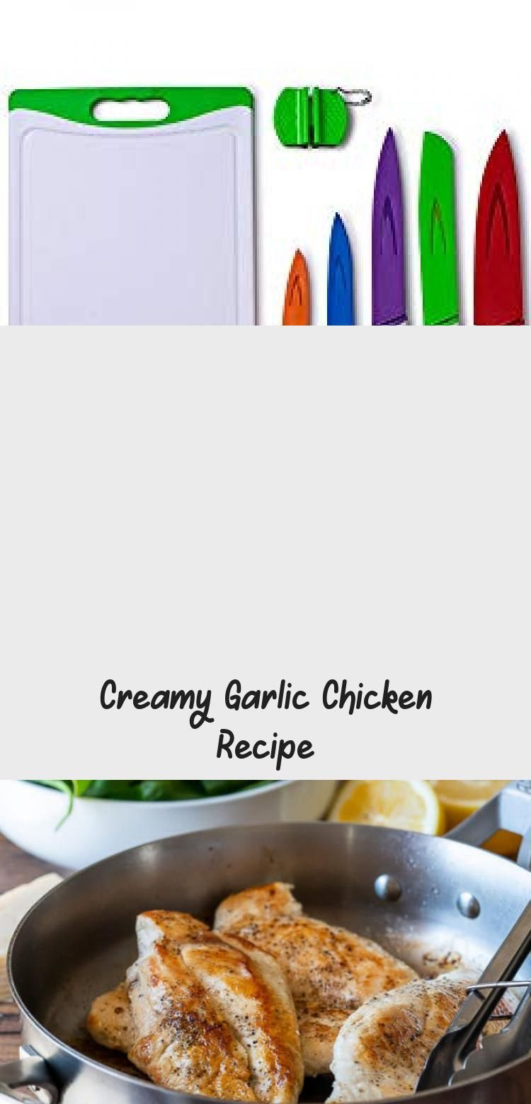 Creamy Garlic Chicken Recipe #creamygarlicchicken