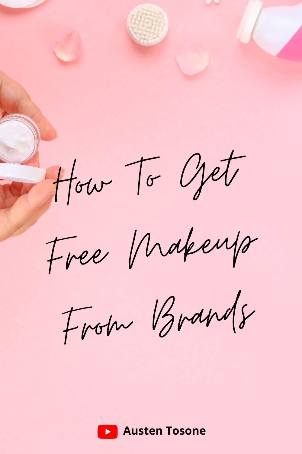 Get On Beauty Pr Lists As A Blogger Get Free Makeup Free Makeup Night Time Skin Care Routine