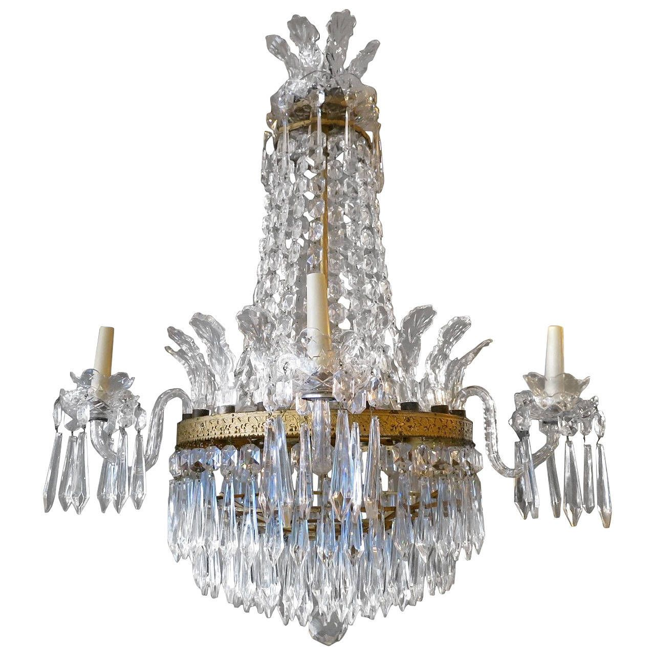 Empire style waterford crystal chandelier empire style empire style waterford crystal chandelier aloadofball Images