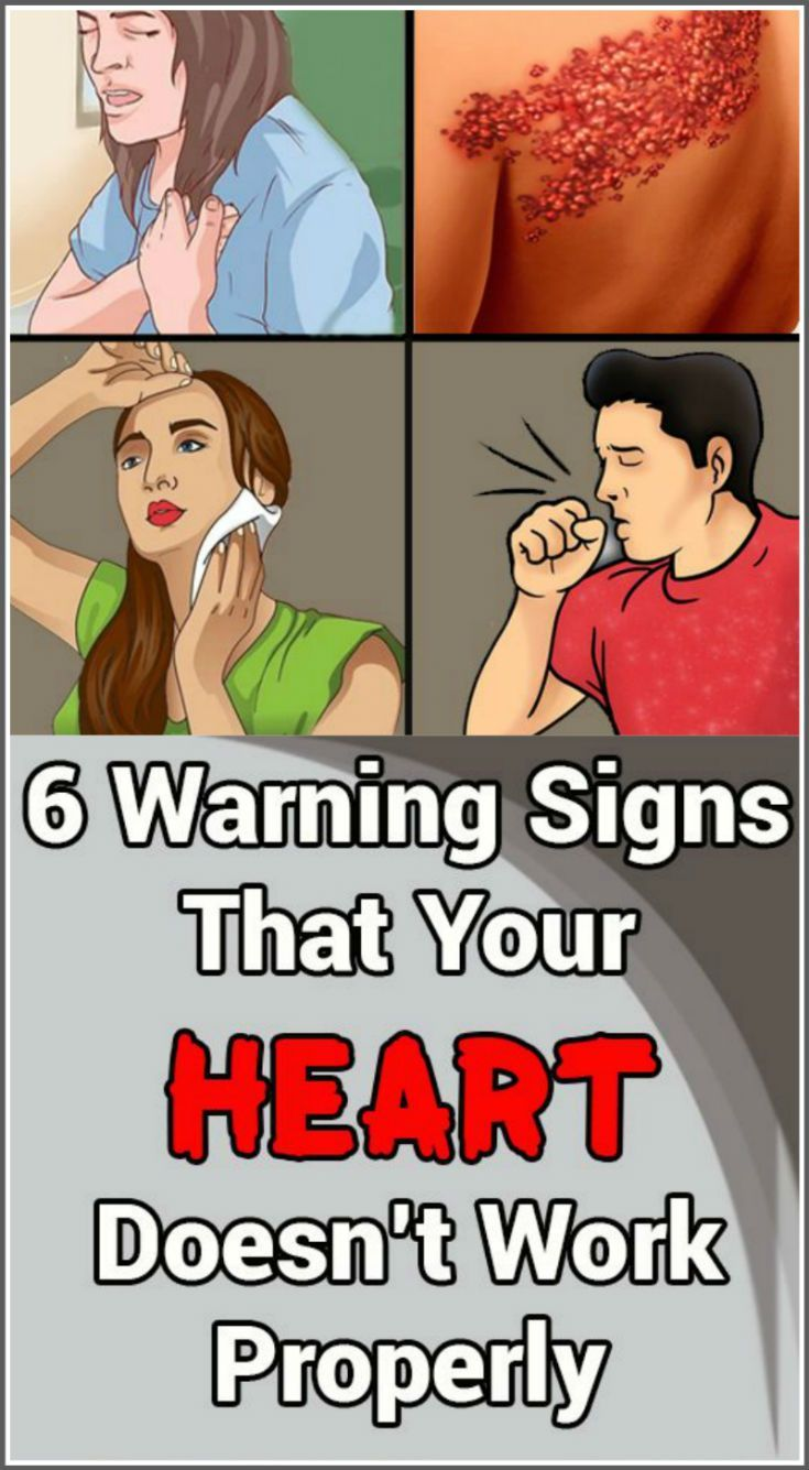 6 Warning Signs That Indicate Your Heart Doesn't W