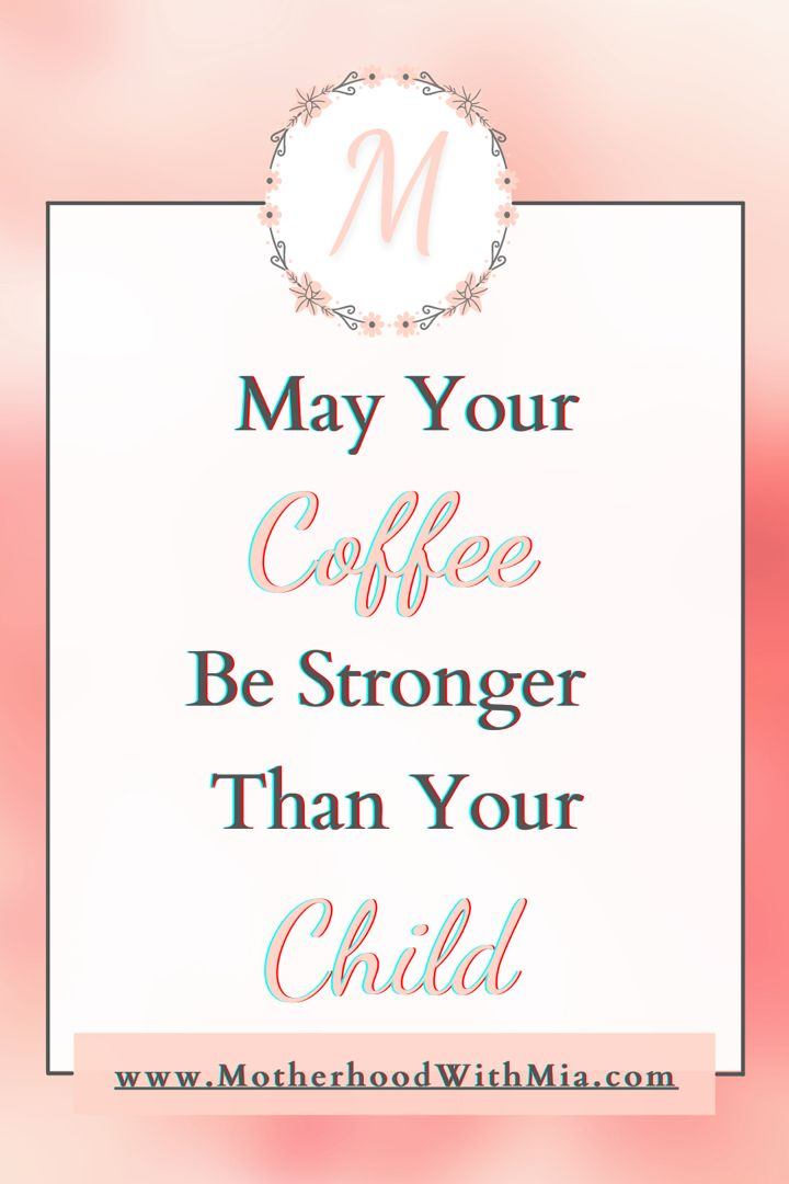 Funny Mom Coffee Quote