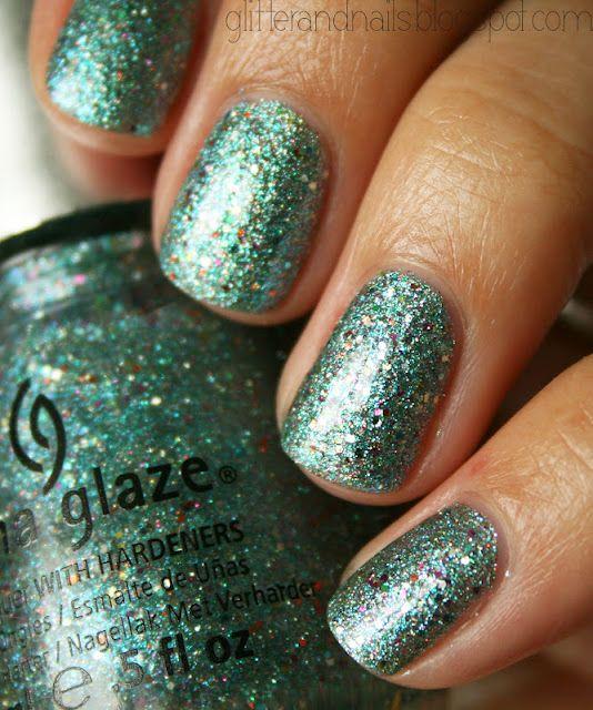 China Glaze Optical Illusion on http://glitterandnails.blogspot.fr ...