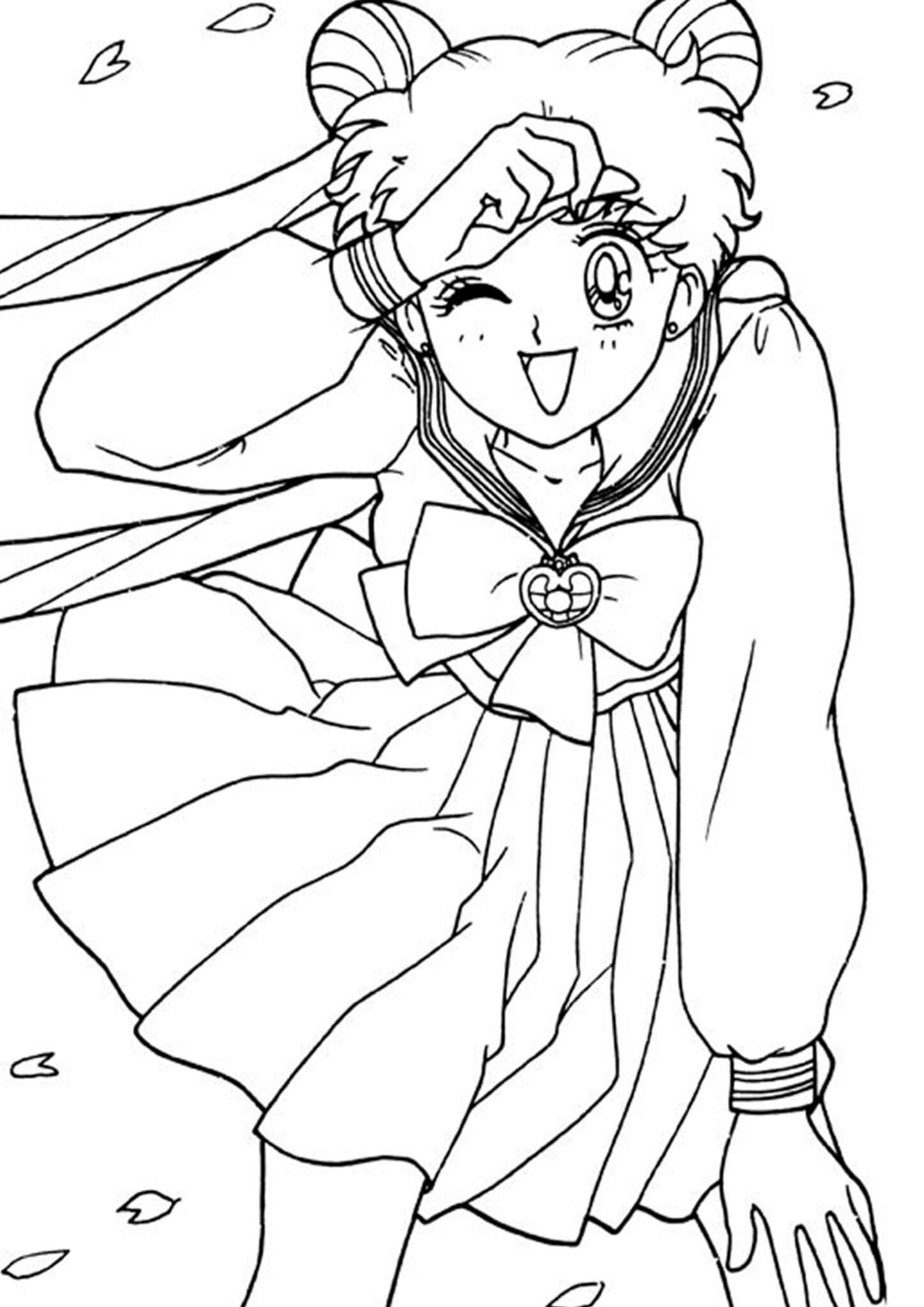Free Easy To Print Sailor Moon Coloring Pages Sailor Moon Coloring Pages Moon Coloring Pages Sailor Moon [ 2048 x 1448 Pixel ]